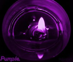 Purple Candle by FrlBlutrausch