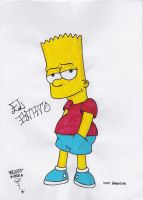 Bart Simpson by BallerAdy