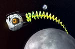 I'm in Space - Portal 2 by ghostfire