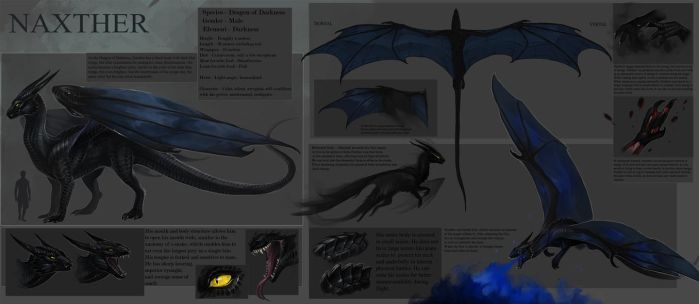 Naxther-reference sheet by Allagar