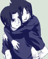 Itachi and Sasuke by rathodshantanu