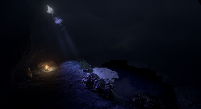 Small Cave Unreal Engine 4 by Eznaex