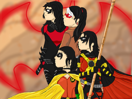 We will always be your Robin's Father by CrimsonRobin