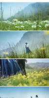 Howl's Moving Castle by 35ryo