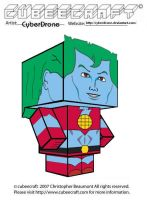Cubeecraft - Captain Planet by CyberDrone