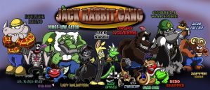 Jack Rabbit Gang for TUFFandTMNT by shinragod