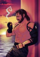 Big Boss MGSV: Phantom Pain by TricksyPixel