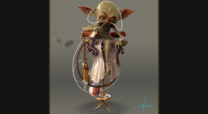 Steampunk Yoda Final by Nick-A-D