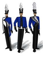 Blue Devils Designs by 290Pika