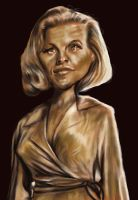 Pussy Galore Honor Blackman by jonesmac2006