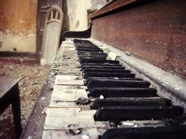 St. Joseph Byzantine Church Piano by JuliexSuicide