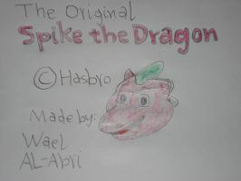 Original Spike Dragon by Wael-sa