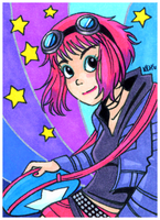 March of Dimes Ramona Flowers by tea-bug