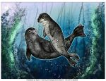 Collab: Selkie Sisters by oxpecker