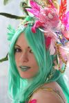 Rydia's flowers and feathers by Ivycosplay