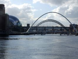 Newcastle Quayside 2 by TimeWizardStock