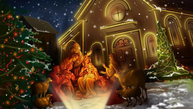 Animated Christmas Best HD Wallpapers by LaurenPenelope