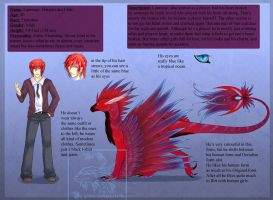 Reference Sheet: Laurence by Yowsie