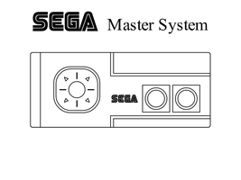 Sega Master System Controller by oloff3