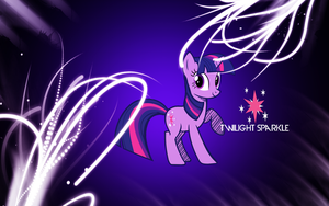 Twilight Sparkle Wallpaper by adamlikesponies