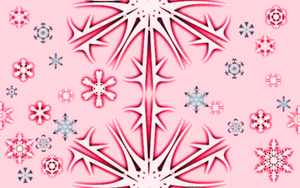 Snowflakes Background by The-Lovely-Fagot