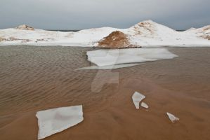 Beached Ice Shards by starfire777