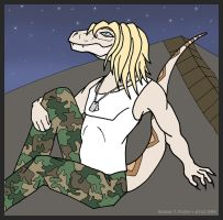 Snakes on Yo' Roof by DancingMadKefka