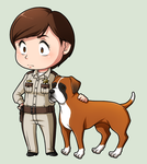 SPN Dogs #11 by NessaSan