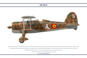 FIAT CR42 Belgium 1 by WS-Clave