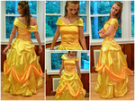 Beauty and the Beast- Belle Gown Commission by ElliotCosplay