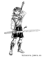 Swordsman without Sir by jomra