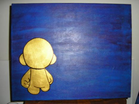 Gold Munny by MahLee