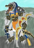Renekton as egyptian god sobek gir ider by daylover1313