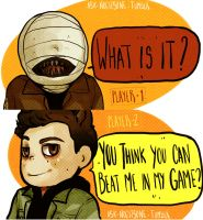 Teen Wolf - Ask Nogitsune by Bisho-s