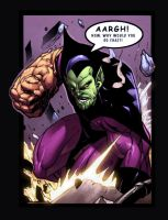Super Skrull pg1 by GEEnormous