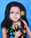 Little Girl by AnnetteJimerson