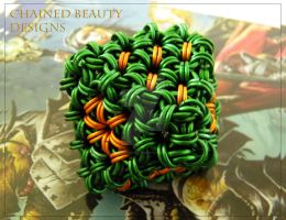 Chainmaille Dice - D8 by ChainedBeauty