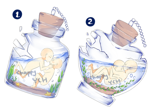 (CLOSED) YCH - broken glass - set price by ChappyVII