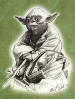 Yoda 2009 by FREAKCASTLE
