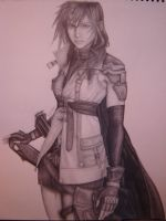 Lightning FF13 by LoneWolfKetsueki