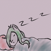 Elyse in Bed by taimtodie01
