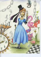 Alice and Madness by Simati