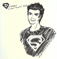 SDCC 2009: Superboy by elfgrove