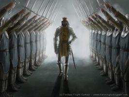 Kings honor guard by henning