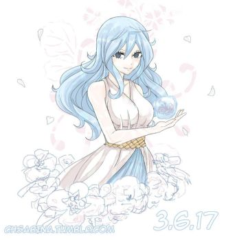 Juvia Day 2017: 3rd of June by Chsabina