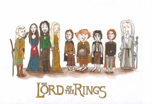 The Fellowship of the Ring by Fae-T