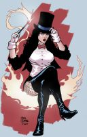 Zatanna colors by craigcermak