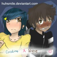 more coraline x wybourne by huhsmile