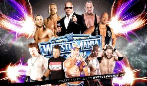 WWE Road to WrestleMania 27 by Gogeta126