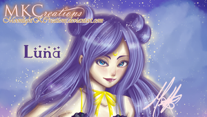 Luna (SailorMoon) by MoonlightKCreations